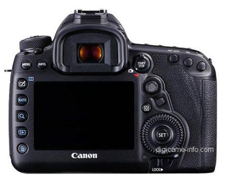 Canon 5D mark IV - trás
