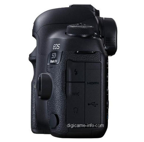 Canon 5D mark IV - Lateral