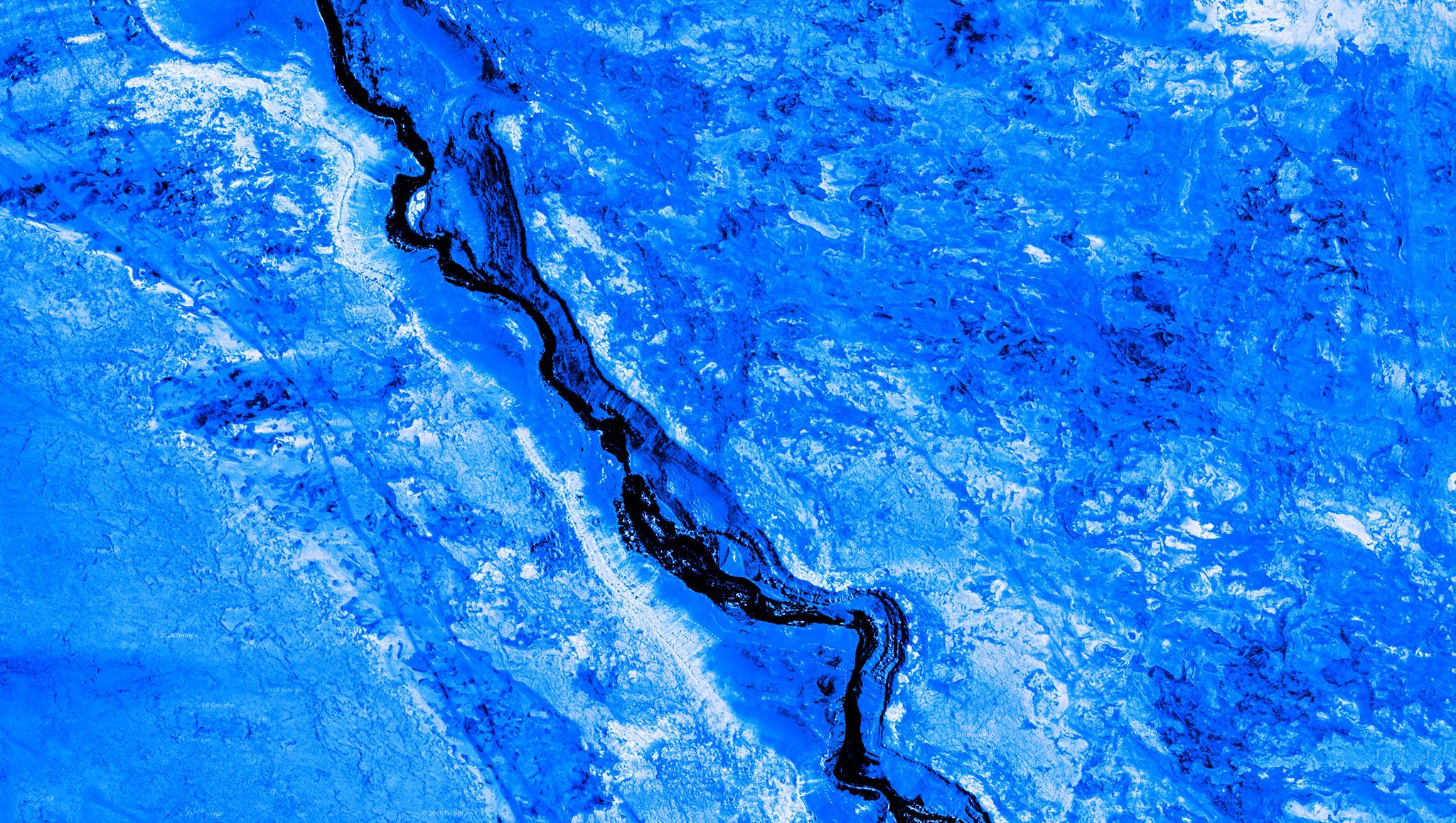Fotógrafo cria arte com imagens do Google Maps