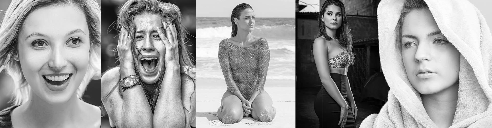 Fotos de modelos femininas fotografadas por Daniel Farjoun